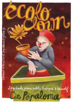 Ecoloclown, spectacle jeune public